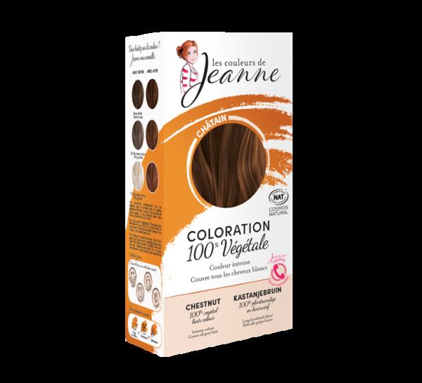 Chatain Couleurs de Jeanne