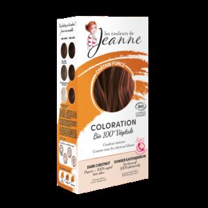 Chatain foncé Couleurs de Jeanne