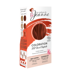 cuivré rouge Couleurs de Jeanne